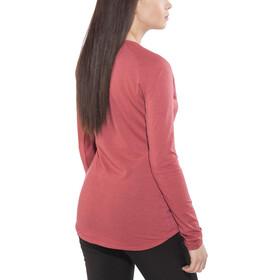 SALEWA Fanes Dri-Rel Longsleeve T-shirt Dames, mineral red